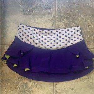 Lululemon tennis skirt. Size 6